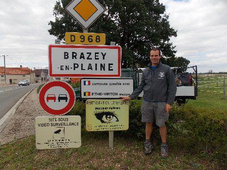 Doortocht Frankrijk